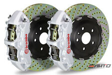 Brembo Front GT Big Brake BBK 6piston Silver 380x34 Drill BMW E60 M5 E63 E64 M6