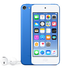 "New Apple iPod Touch 32GB 4"" 8MP VGA 6th Generation BLUE"