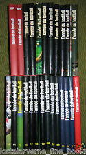 """L'Année du Football""  Bel Ensemble 25 volumes 1974-1998 par Thibert - Vella"