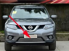 Front Grille Around Trim For 2014-2016 Nissan X-Trail Rogue Full Set Stainless