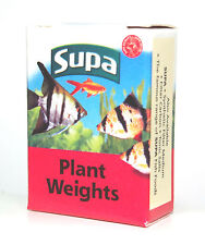 x10 Pre Cut Strips of Aquatic Plant Weights Holds Live Plants Firmly in Gravel