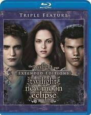 Twilight Forever: The Complete Saga (Blu-ray Disc, 2015, 3-Disc Set) New