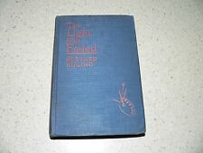 "Vintage ""The Light That Failed"" Hardcover Book by Rudyard Kipling~1925 Edition"
