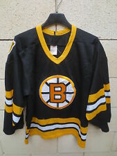 VINTAGE Maillot hockey BRUINS BOSTON CCM shirt NHL 90's jersey S collection