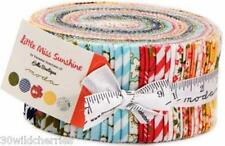 SPECIAL PRICE Jelly Roll Little Miss Sunshine Moda Fabric Quilt 100% Cotton