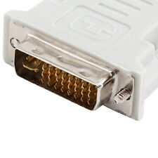 DVI DVI-I Male 24+5 Pin to VGA Female Video Converter Adapter Plug fr DVD HDTV ~