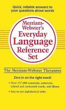Merriam-Webster's Everyday Language Reference Set: Vocabulary Builder/Thesaurus/