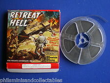Super 8mm film -  Frank Lovejoy  in ' Retreat Hell !  '  200ft  Silent