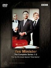 YES MINISTER - THE COMPLETE SERIES 1-3, 4DISC-SET, Region: 4
