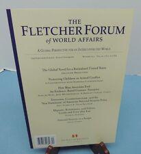 The FLETCHER FORUM Of World Affairs ~ Winter 2012 -- ideas journal - Tufts Univ.