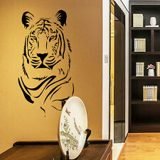 Black Tiger Removable Vinyl Wall Sticker Home Room Decor Decal Mural Wallpaper