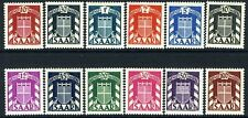 GERMANY (SAAR)-1949 Officials Set  to 100 f Sg 0264-0275 LIGHTLY MOUNTED MINT