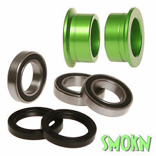 RFX Rear Wheel Spacer Bearing & Seal Kit Kawasaki KX 250 450 F KXF 06-16 Green