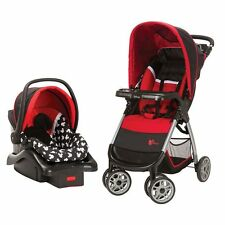 FNEW Baby Stroller Car Seat Set Disney Mickey Mouse Infant Travel