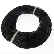 Real Genuine Leather Charms Rope String Cord DIY Nacklace Making 1/1.5/3mm #2