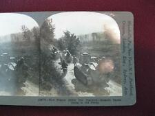 Stereoview Keystone View Co How France Aided Her Fighters Renault Tanks WWI (O)