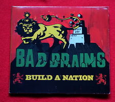 Bad Brains Build A Nation  cd digipack OSCILLOSCOPE Reggae Dub Rasta PUNK