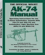 Official Soviet AK-74 Manual-Operating the 5.45mm Kalashnikov-Ballistic Tables