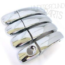 CHROME SIDE DOOR HANDLE COVERS KIT FORD FOCUS MK2 MK3 2005 - 2013 KUGA & CMAX