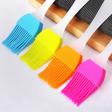 1pcs Silicone Cake Pastry Oil Roast Cooking Baking Kitchen Basting Brush Random
