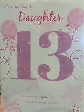 Daughter 13th Birthday Card