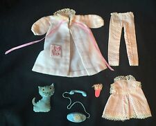 Vintage 1963 Tagged Barbie SKIPPER DREAMTIME OUTFIT #1909 Near Complete