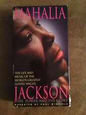 Mahalia Jackson: The Power and the Glory (PV VHS) Her Life Story RARE HTF