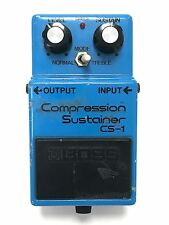 Boss CS-1, Compression Sustainer, Made In Japan, 1981 (experimental)