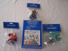 DISNEY INFINITY NINTENDO 3DS TOY BOX GAME and INTERACTIVE BASE w/ 3 Figures NEW