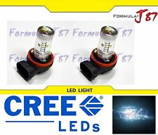 CREE LED 30W H16 Type Two 64219 WHITE 6000K TWO BULB FOG LIGHT REPLACEMENT JDM