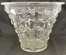 Art Deco Orrefors Simon Gate Art Glass Clear Vase