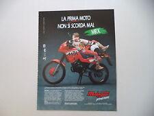advertising Pubblicità 1990 MOTO MALAGUTI MRX 50