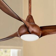 "52"" Ceiling Fan with LED Light  Vent Lamp Ventilation Dimmable Lighting Remote"