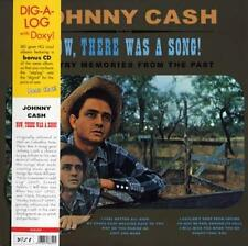 "JOHNNY CASH ""NOW, THERE WAS A SONG!"" VINYL LP REISSUE + CD BONUS"