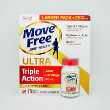 75 Coated Tablets Schiff Move Free Ultra Triple Strength Glucosamine