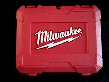 BRAND NEW MILWAUKEE M12  HIGH IMPACT CASE FOR 2450-22 IMPACT DRIVER & BATTERIES