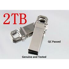2TB USB 2.0 FLASH PEN DRIVE MEMORY STICK KEY U DISK HOOK LOCK METAL