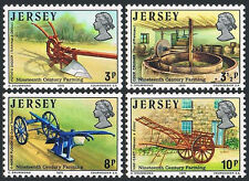 Jersey 120-123, MNH. 19th century Farming Tools, 1975