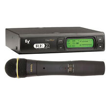 EV Electro Voice RE2-N7 Wireless Microphone System & ND767 Vocal Mic Band-A
