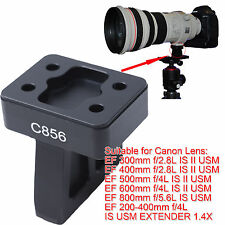 Lens Support Collar Tripod Mount Ring Foot for Canon EF 400mm f/2.8L IS II USM