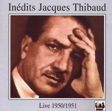 Inedits Jacques Thibaud 2 CDs Jochum Rubinstein Tahra New Sealed