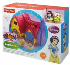 Fisher Price Little People Disney Princesses Snow White Cottage Set  BNIB