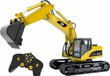 Top Race 15 Channel Full Functional Professional RC Excavator Remote Control ...