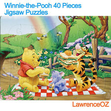 40 Pieces Jigsaw Puzzles Winnie the Pooh Drawing Best Gift for Kids