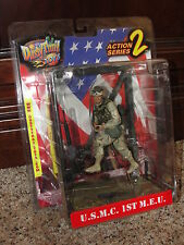 Dusty Trail Toys Action Figure Series 2 U.S.M.C. 1ST M.E.U. Display