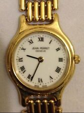 Authentic Jean Perret Geneve Swiss Quartz Womens Wrist Watch