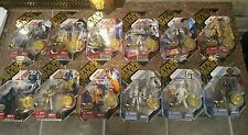 Star Wars 30th Anniversary Complete Set Ultimate Galactic Hunt Figures Gold coin