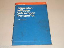 Werkstatthandbuch VW Transporter T 3 Vergaser Motor 1,6 L Stand Juni 1979