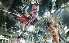 "FF13 FF Final Fantasy XIII 13 Game Poster 21x13"" Decor 13-42"
