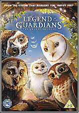 Legend of the Guardians - The Owls Of Ga'Hoole (DVD, 2011), good condition!